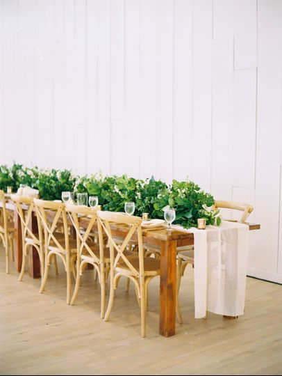 Rustic Chic Head Table