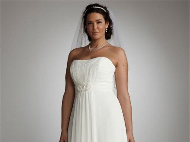 Tmx 1338478644715 ChiffonSoftALinewithBeadedEmpireWaistStyle9WG3128 Branford wedding dress