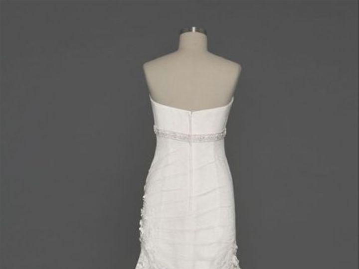 Tmx 1338478690512 LaceFitandFlareGownwithFloralDetailsStyleCWG37701 Branford wedding dress