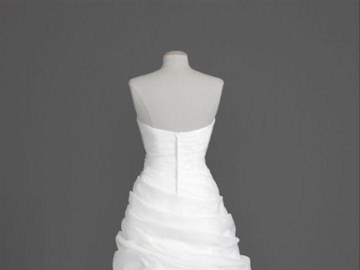 Tmx 1338478695841 OrganzaALineGownwithAngledDrapedPickUpsStyleSWG33901 Branford wedding dress