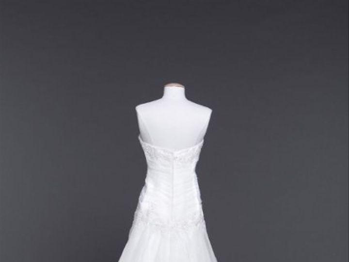 Tmx 1338478702374 OrganzaSplitFrontALinewithBodiceDetailStyleWG319901 Branford wedding dress
