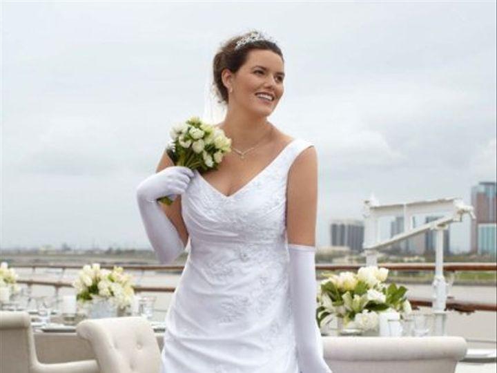 Tmx 1338478705050 SatinALineOfftheShoulderSideDrapedGownStyle9WG3248 Branford wedding dress