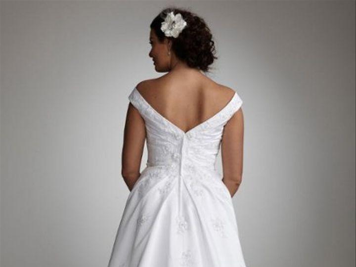 Tmx 1338478707167 SatinALineOfftheShoulderSideDrapedGownStyle9WG324801 Branford wedding dress