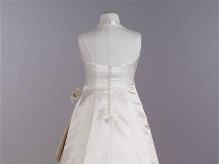 Tmx 1338478712591 SatinHalterwithCascadingSideDrapeStyle9E878701 Branford wedding dress