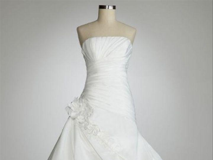 Tmx 1338478741360 StraplessPleatedBodiceGownwithPickUpSkirtStyle120472 Branford wedding dress