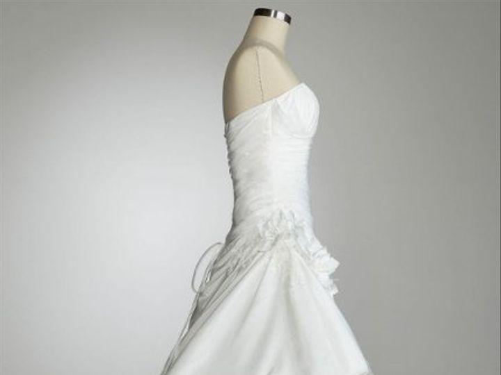 Tmx 1338478746461 StraplessPleatedBodiceGownwithPickUpSkirtStyle12047202 Branford wedding dress