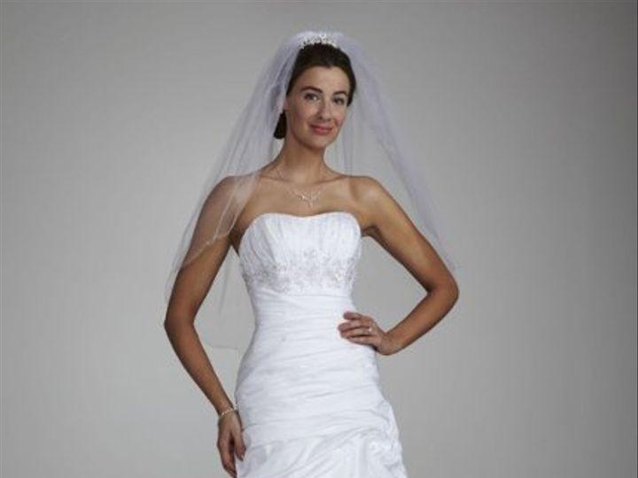 Tmx 1338478773322 StraplessTaffetaWeddingDresseswithPickUpSwirlSkirtStyleWG3397 Branford wedding dress