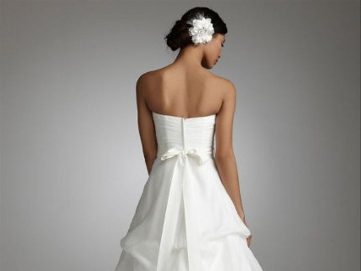 Tmx 1338478781171 SweetheartOrganzaGownwithPickUpSkirtStylePK322601 Branford wedding dress