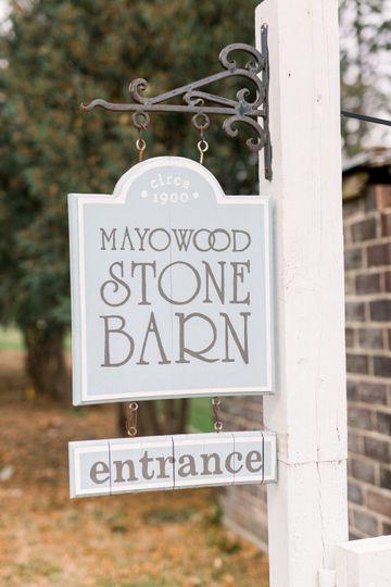 Mayowood sign