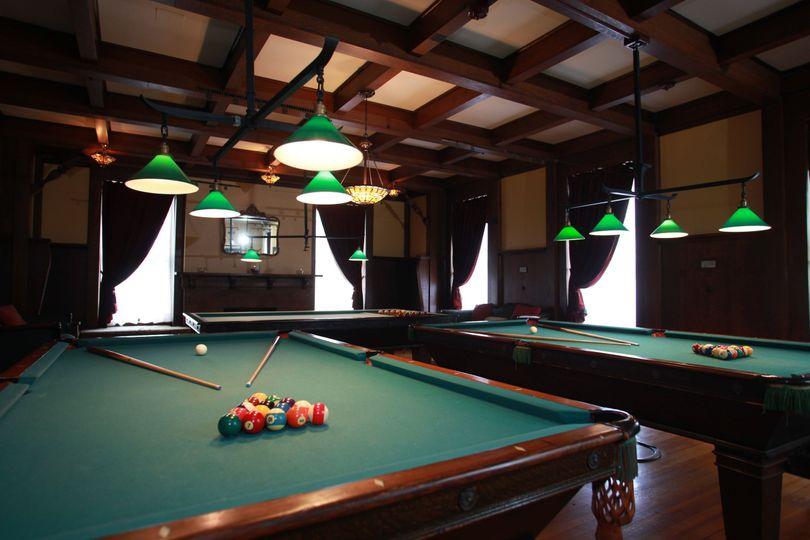 Stockade Inn Billiards Room