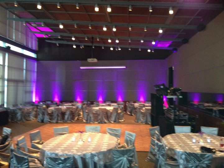 Reception and lighting