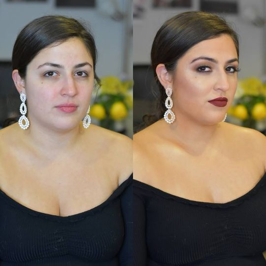 Airbrush Before and After