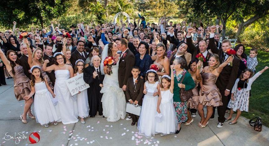The happy ceremony