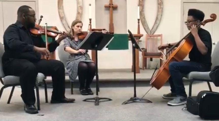 Charles Parker, ViolaJenniffer Campbell, ViolinMicah Sanchez, Cello