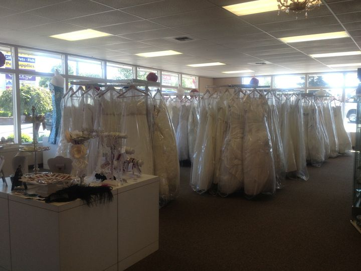 Our gorgeous gowns!