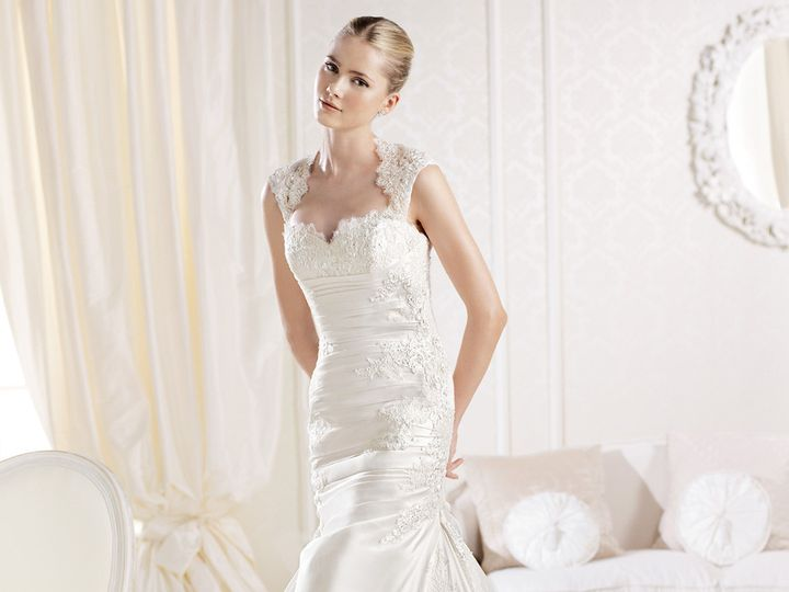 Tmx 1397683711271 Lsilen Everett wedding dress