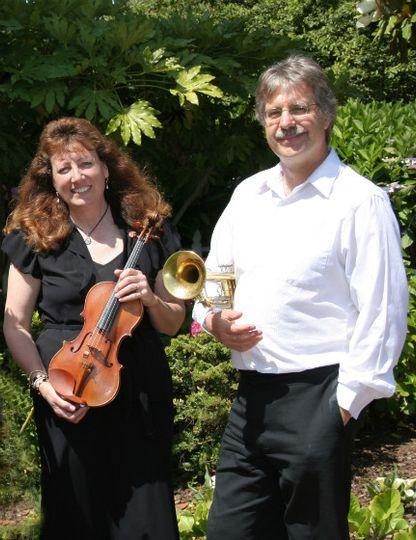 violin trumpet duo