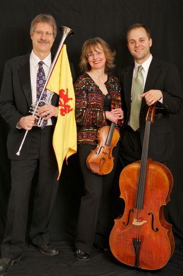 Herald Trumpet, Violin, Cello