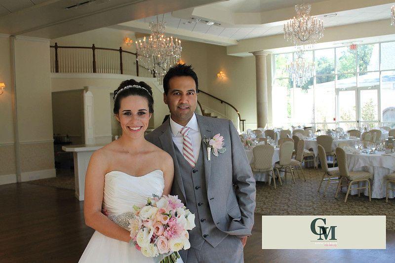 bride and groom wedding l