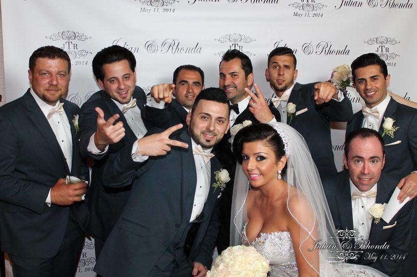 wedding team groom