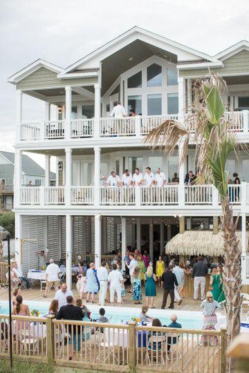 Southern Grace Beach House - Venue - North Topsail Beach ...