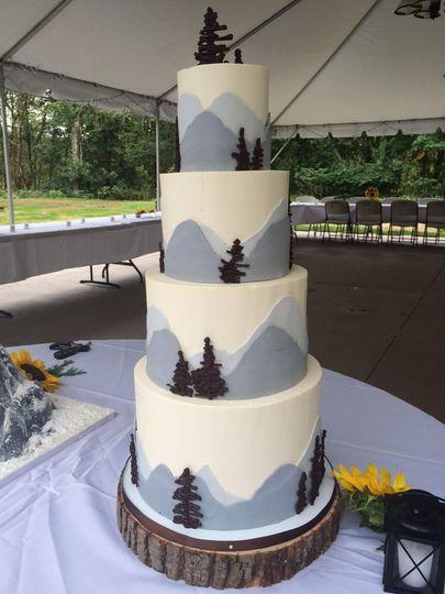 Four tier cake design