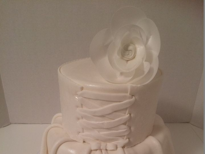 Tmx 1454697128594 Bridal Shower Corset Tiered 2 Seattle, WA wedding cake
