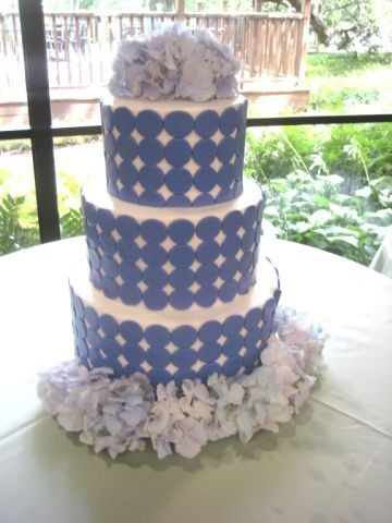 Tmx 1454697267145 Dot Covered Purple Wedding Tiered 1 Seattle, WA wedding cake