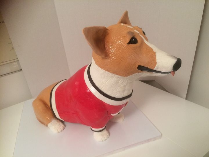 Tmx 1454697312487 Fergie The Corgie Sculpted 1 Seattle, WA wedding cake