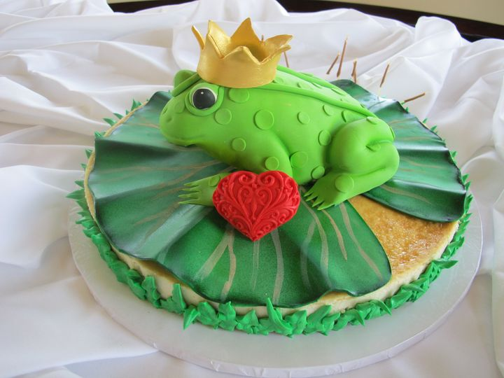 Tmx 1454697349285 Frog On Lily Pad Cheesecake 3 Seattle, WA wedding cake