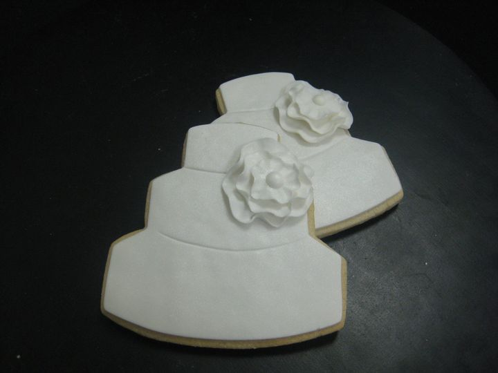 Tmx 1455043923367 Wedding Cake Ruffle Sugar Cookies 2 Seattle, WA wedding cake
