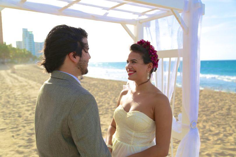 karlas beach wedding