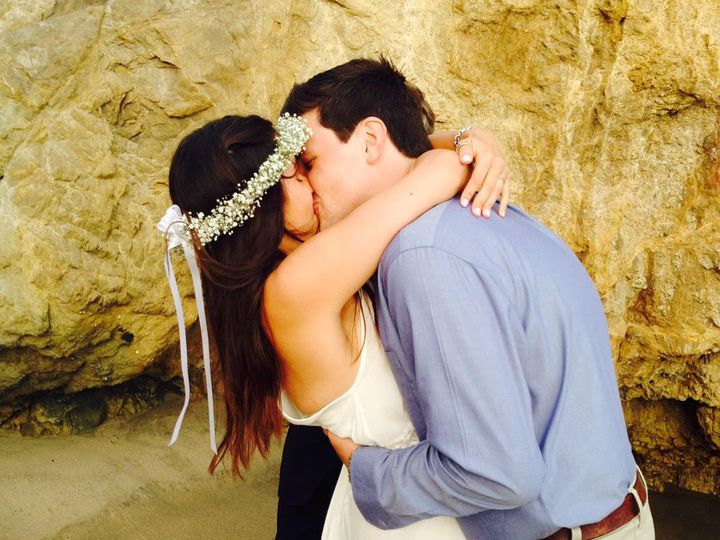 Tmx 1436380974551 Dara  Chris First Kiss West Hills wedding officiant