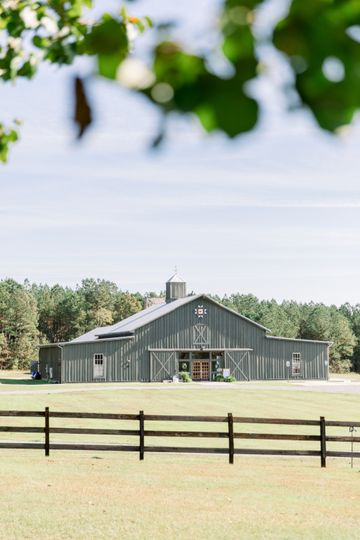 A view of the Barn at Oakland