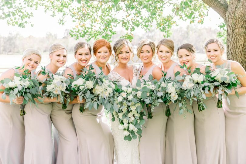 Perfect bridal party!