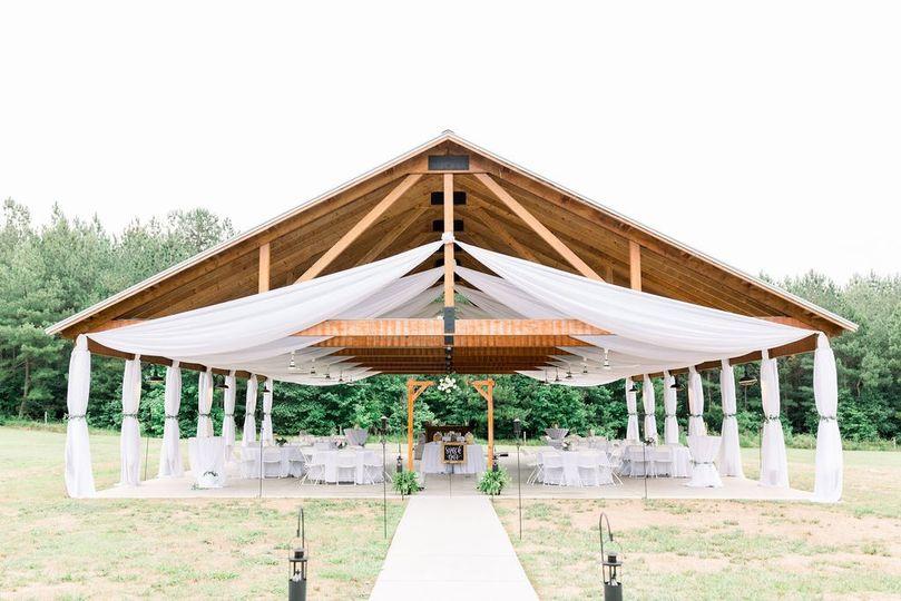 Draped Pavilion