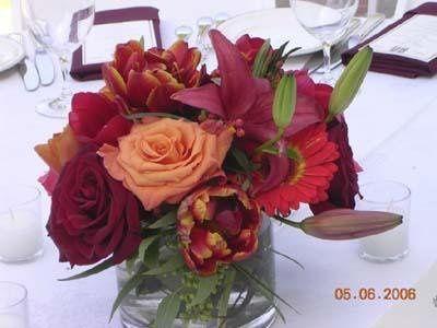 Tmx 1233390610375 Deepred Darkpinkmixcenterpiece Milpitas, CA wedding florist