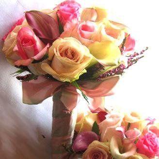 Tmx 1233390717843 Hotpink Yellowbouquet Milpitas, CA wedding florist