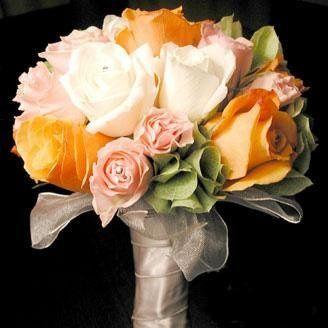Tmx 1233390739609 Greenorangebouquet Milpitas, CA wedding florist