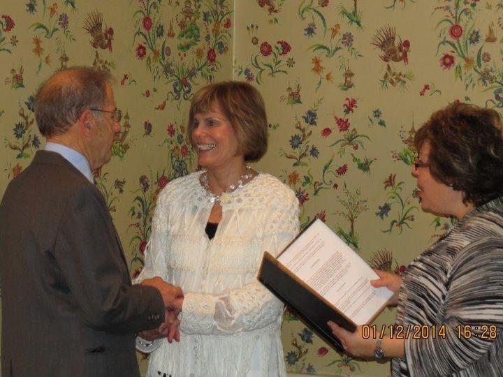 Tmx 1442432617257 Picture Wedding Jan 12 2014 R And L 106 Elkins Park, Pennsylvania wedding officiant
