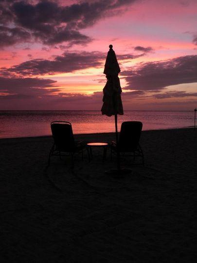 another beautiful Jamaican sunset