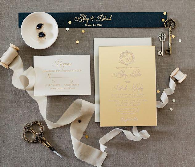 Elegant Acrylic Invitation