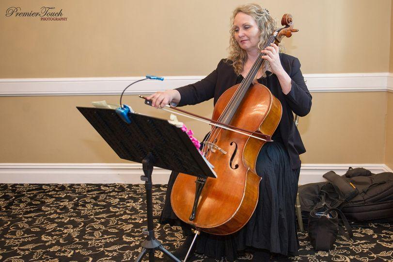 Cellist Elina Lang