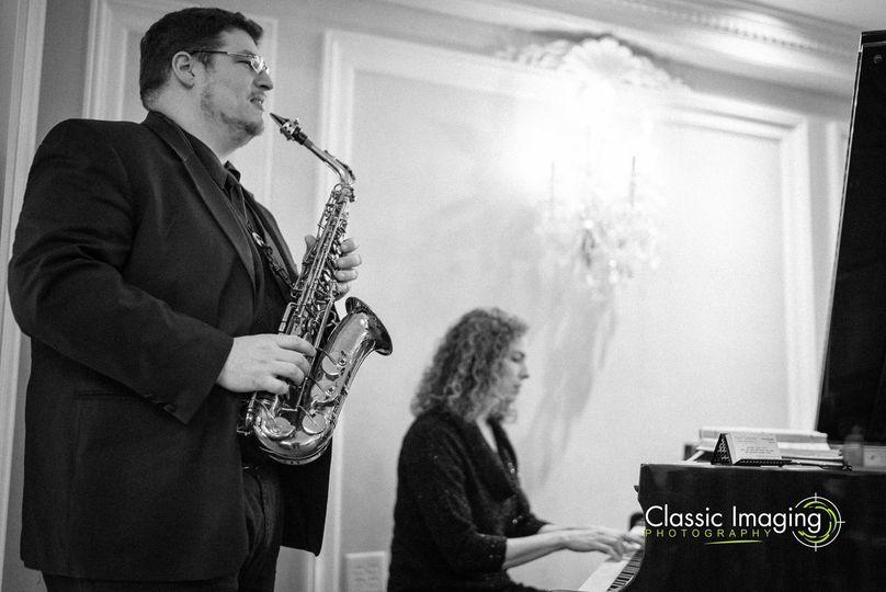 Saxophonist Dan, Pianist Tara