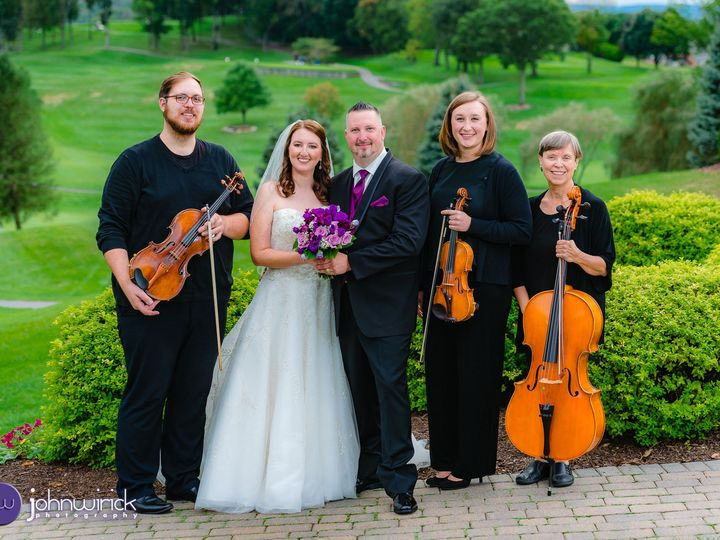 Tmx Barkerguarriellomorrisonviolinviolacellotriooutdoorbridegroom  51 45802 Highland Park, NJ wedding ceremonymusic