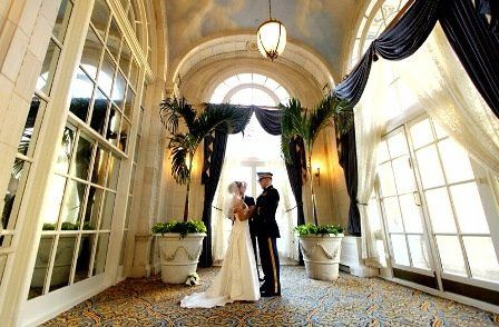 Simple Ceremony with couple only at the Hermitage Hotel
