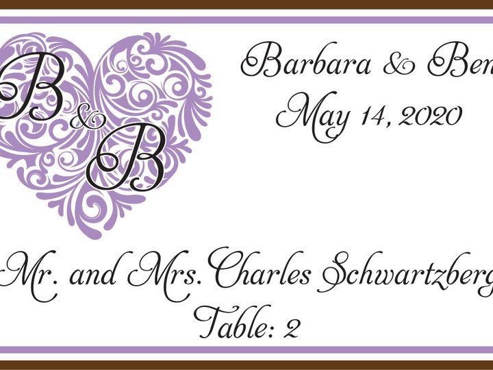 Tmx 1487979762749 Place Card 4 Pittsburgh wedding favor