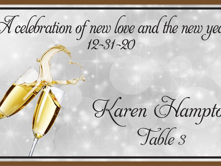 Tmx 1487979769146 Place Card 5 Pittsburgh wedding favor