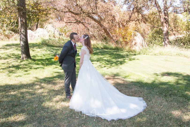Gold Hill Gardens Wedding