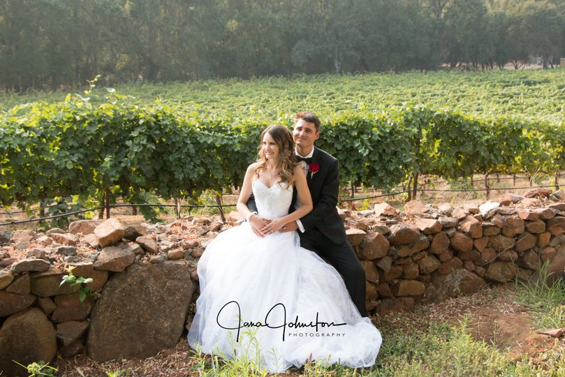 Wedding Rock Wall